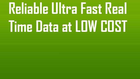Realtime Data for Amibroker, Metastock, Meta Trader4 & Ninja